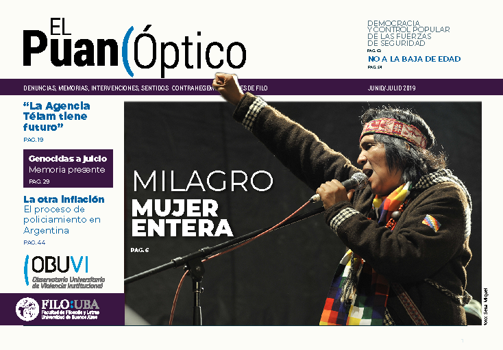 La imagen muestra la portada del número 2 de la Revista El Puan Óptico.