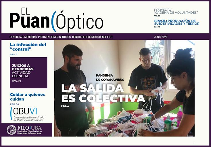 La imagen muestra la Portada de la Edición Número 4 de la Revista El Puan Óptico.